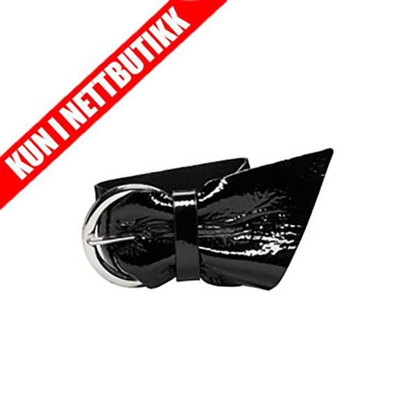 Bilde av Black Patent Leather Bracelet